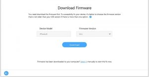 Fix the black and white iPhone IOS issue with the IMyFone Fixppo software