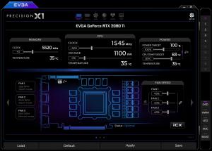 EVGA Precision X1 software