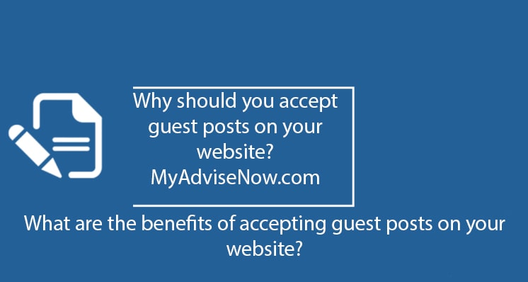 accepting guest post on your website might be a good idea for you.