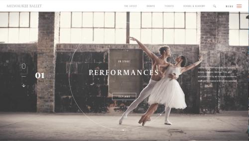 homepage design templates